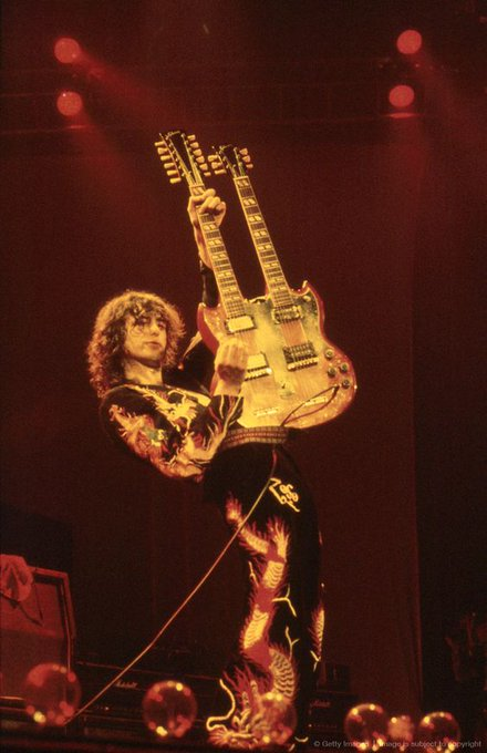 Happy birthday Jimmy Page.  Led Zeppelin\s founder is 74 today.