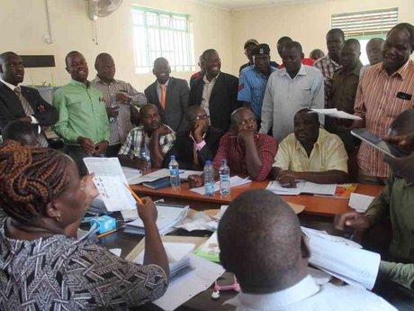 Missing seal, broken ballot box as Homa Bay votes recount continues