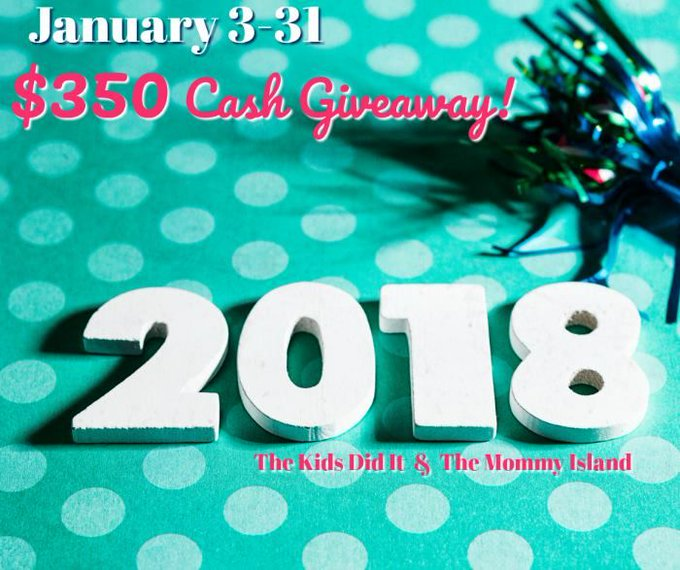 January $350 Cash Giveaway