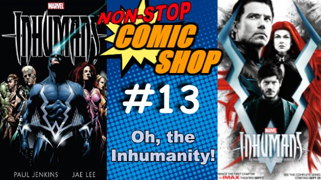 New Non-Stop Comic Shop! Brendan and Jordan are joined by Jonathan and Patti from the Mutant Musings podcast to take a very critical look at Marvel's colossal miscalculation of the Inhumans' popularity.  https://t.co/HVOsDDuuZD #Marvel #Inhumans #comics #XMen https://t.co/2kOzISIdhq