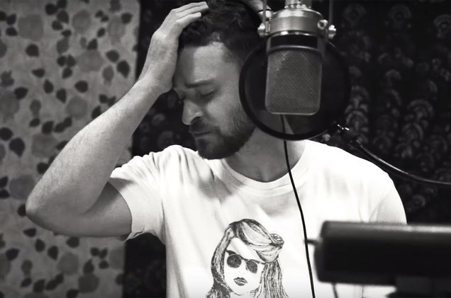 Justin Timberlake shares studio footage from the making of 'Filthy' (watch) https://t.co/lqqzRqqojE https://t.co/gXVk5XWOBM