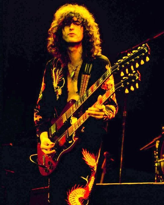 Happy 74th Birthday to Legendary  Jimmy Page!!!