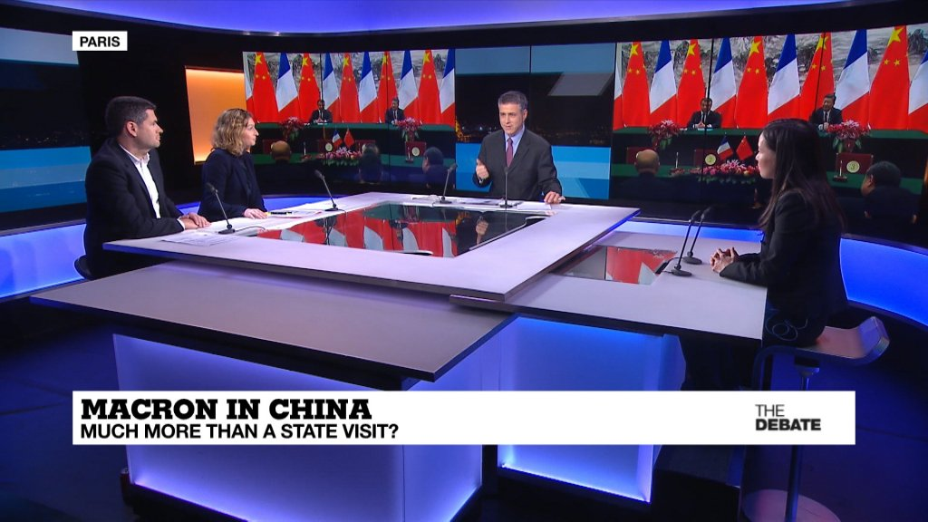 THE DEBATE - Macron in China: Much more than a state visit?
