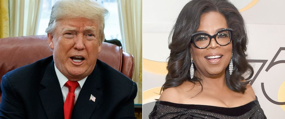 Trump doesn't foresee Oprah presidential run, but predicts he would beat her: https://t.co/LXHznuV9jo https://t.co/BJyD6djNkA