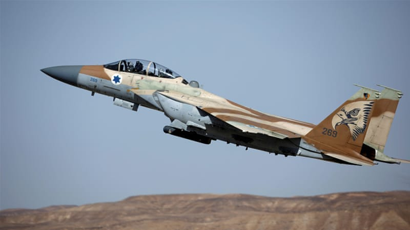 Israel launches air strikes near Damascus, says Syria's military