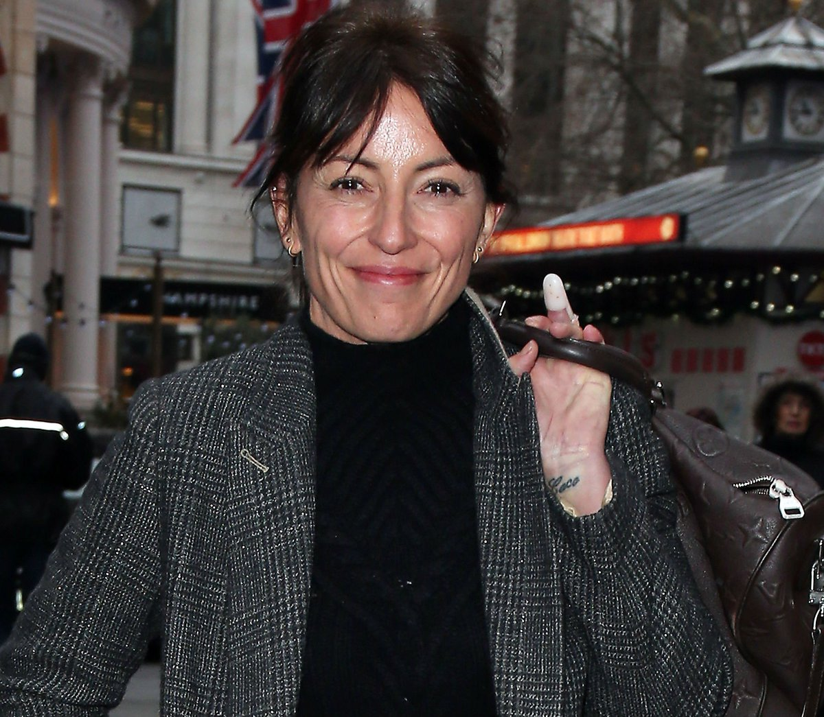 Davina McCall speaks out on 'cry for help' Christmas video