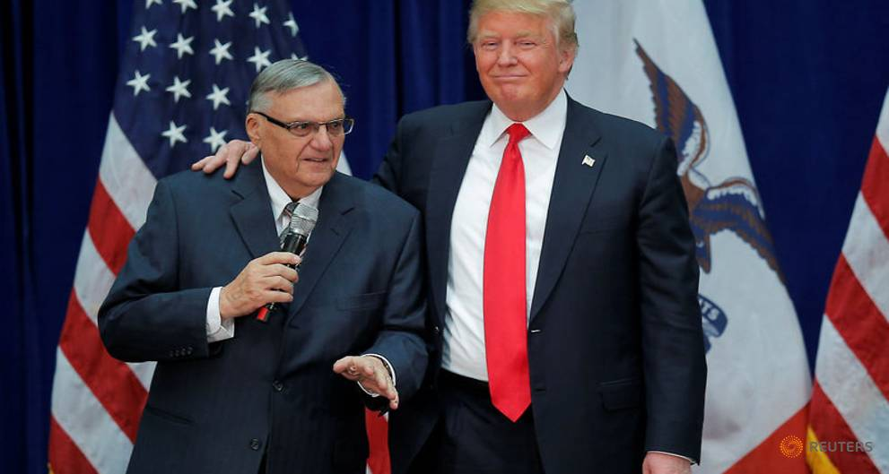 Trump ally Sheriff Joe Arpaio launches US Senate bid