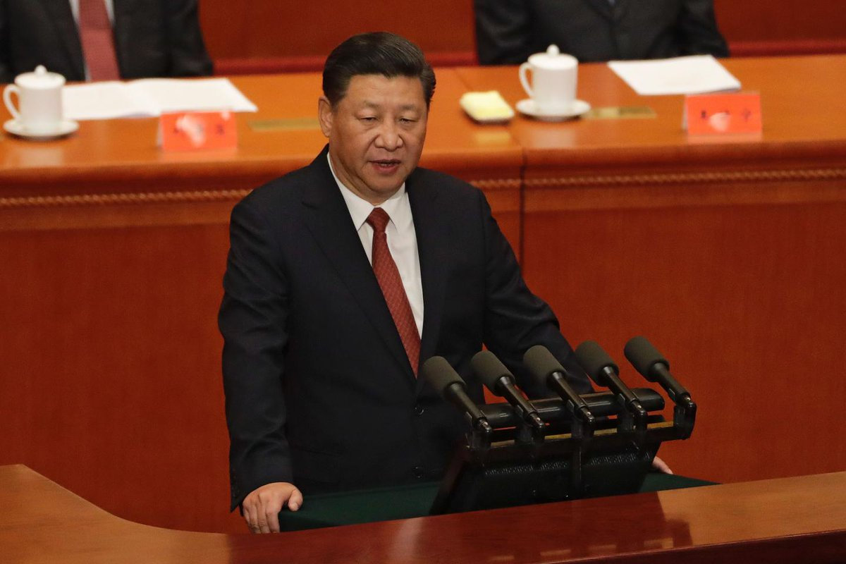 Chinese President Xi Jinping went after a former top military leader