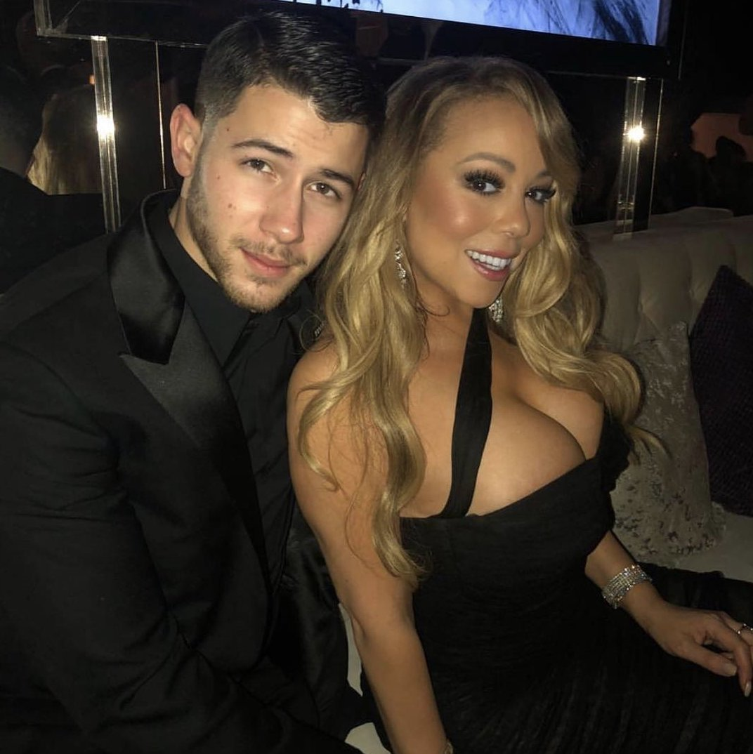 #GoldenGlobes moments with the incredible @mariahcarey. https://t.co/xqr3fBLSOq
