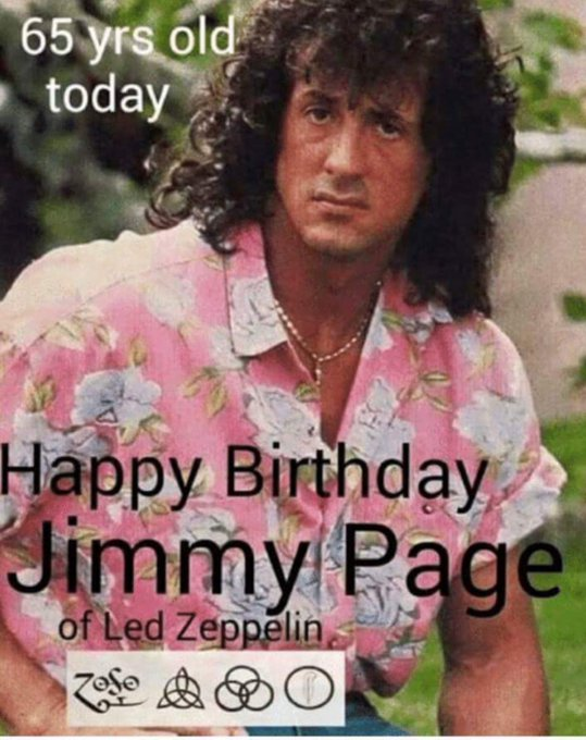 Happy birthday to Led Zeppelin guitarist Jimmy Page!