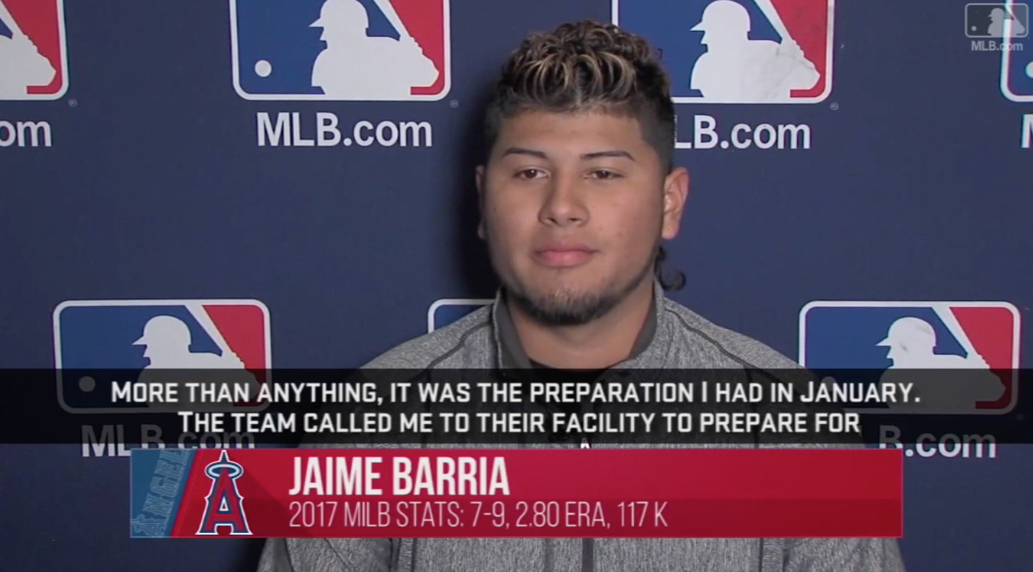 #Angels prospect Jaime Barria is ready to face new challenges at #LAASpring. https://t.co/FzJBUNUyro