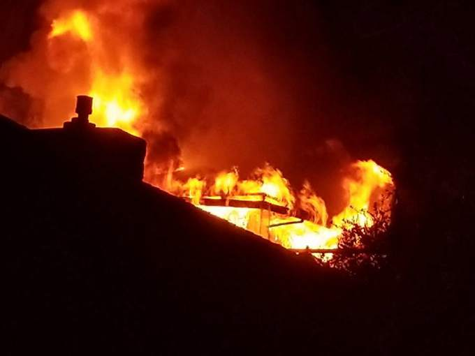 Electrical wiring in TV cabinet starts 2‑alarm Santa Rosa house fire