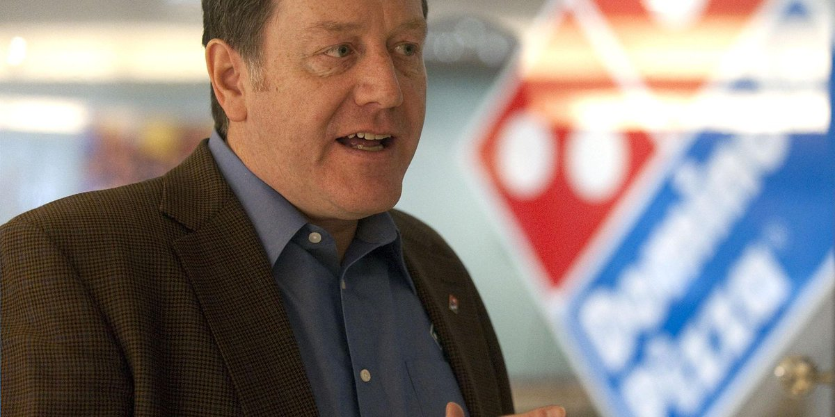 Domino's CEO will hand reins to international chief