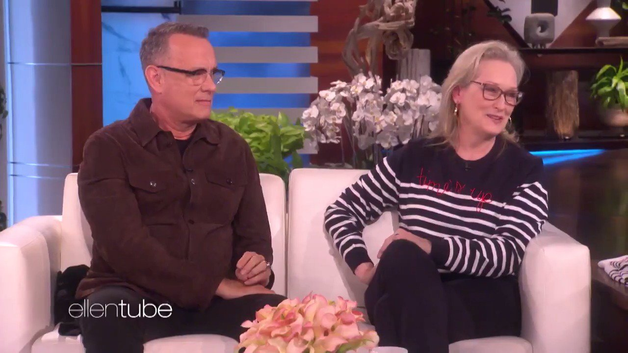 .@TomHanks, Meryl Streep and I talked about @Oprah running for president. https://t.co/Xbtb0H8fs3