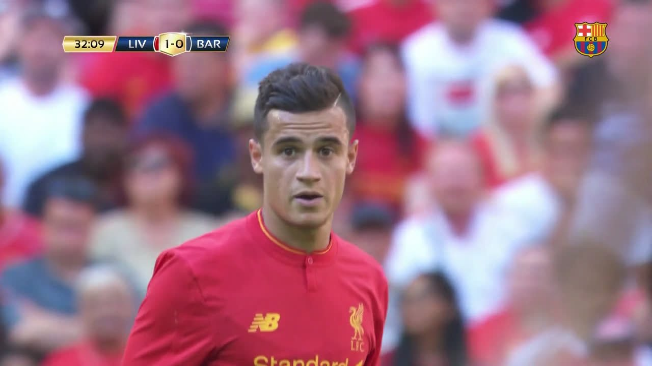 ��⚽️ We got a close-up glimpse of @Phil_Coutinho's talents during a pre-season friendly v Liverpool, back in 2016... https://t.co/5u6h1n6Hl9