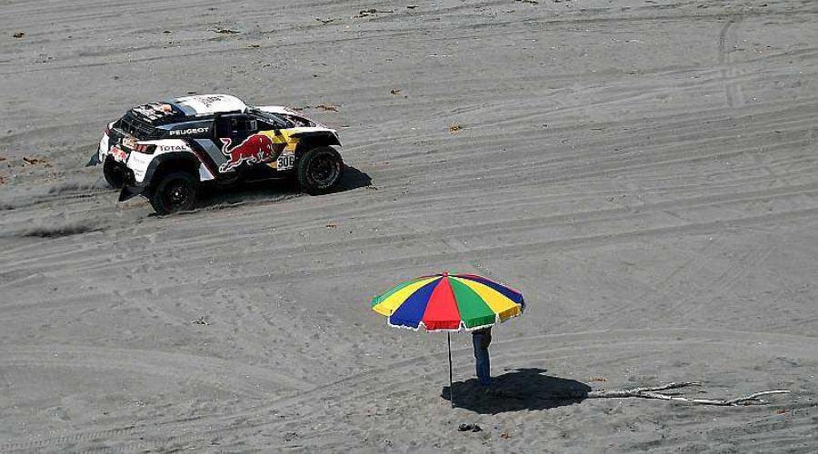 Dakar 2018. Sébastien Loeb s'impose dans les dunes