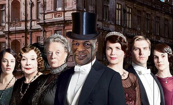 Boxing legend Mike Tyson wants a starring role as a toff in the Downton Abbey movie