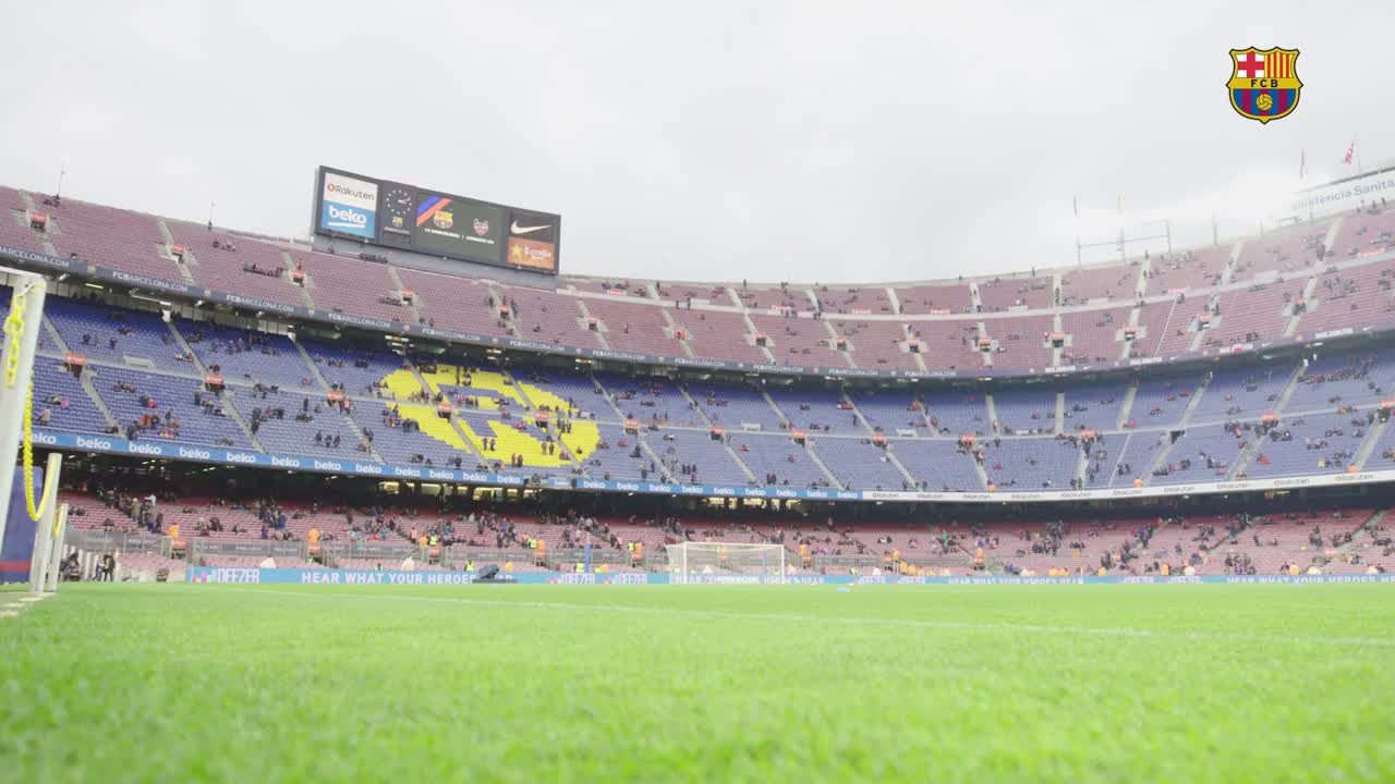 Camp Nou ❤ Barça Fans Follow us on @Viber  and live the blaugrana experience in a different way! https://t.co/ayUIwlfVFu