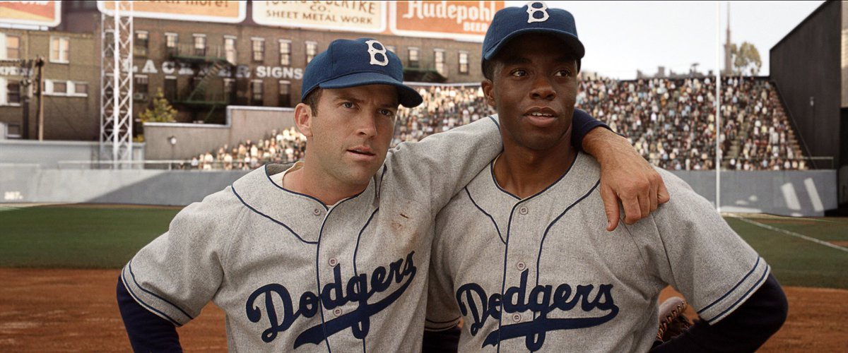 """RT @MLBMeme: """"Maybe we'll all wear #42 so nobody can tell us apart """" https://t.co/ze86uBEQa5"""