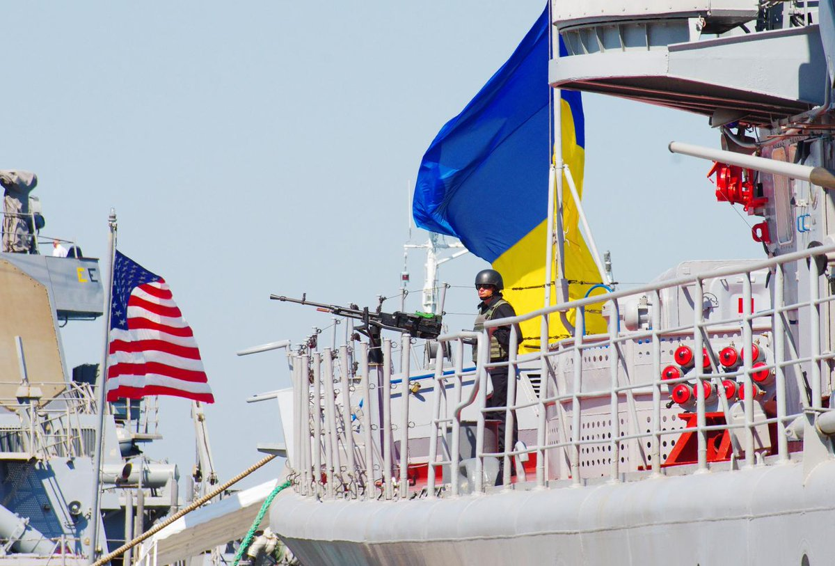 Third U.S. destroyer in six months enters Black Sea and docks in Ukraine