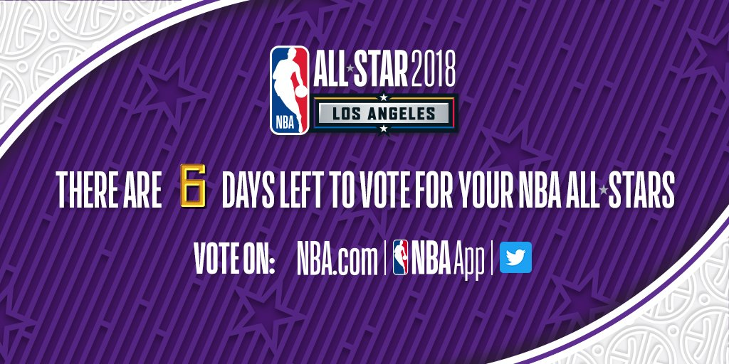 There's just 6 days left!   VOTE NOW: https://t.co/UjbrNUQ7Vw https://t.co/5NEZ2xPig8