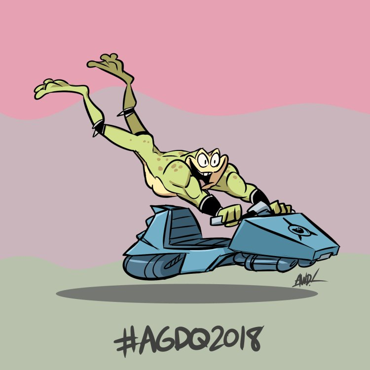 RT @AWDtwit: #AGDQ18 #GamesDrawnQuick @GamesDoneQuick  Battletoads https://t.co/wJ4a7x8g8i