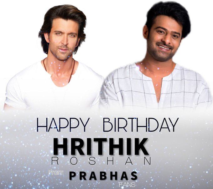 Wishing Hrithik Roshan A Very Happy Birthday From All Fans.