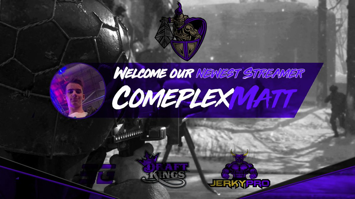 Join us in welcoming @TheComplexMatt he is our newest addition to the Envision Stream Team! #PurpleEmpire https://t.co/zzUht2gxuK
