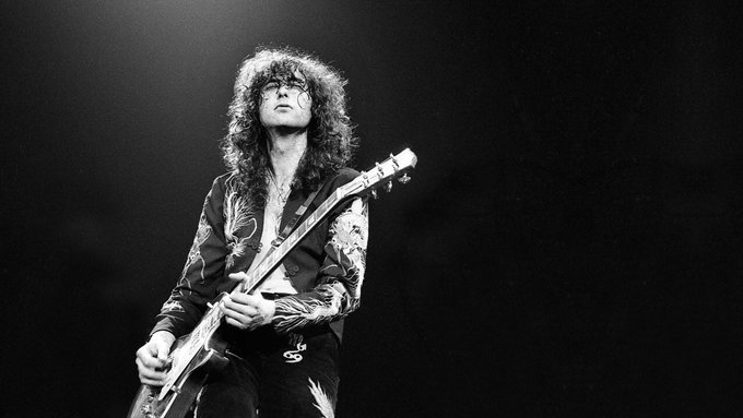 Happy Birthday to Jimmy Page!!