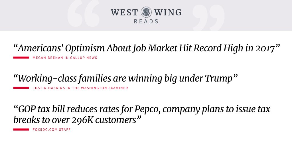 Tonight's West Wing Reads ➡️ https://t.co/TybDDr2Vn7 https://t.co/AsFEukbsIr