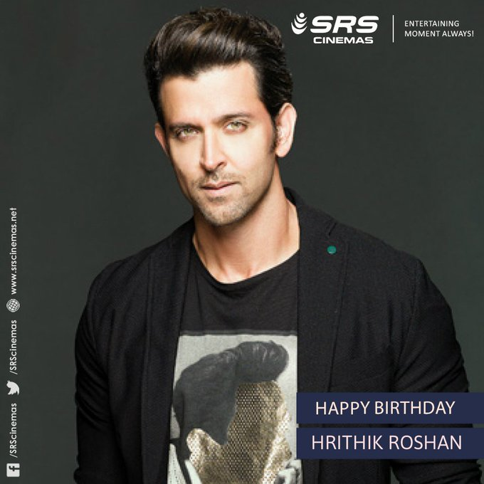 A very happy birthday, Hrithik Roshan!
