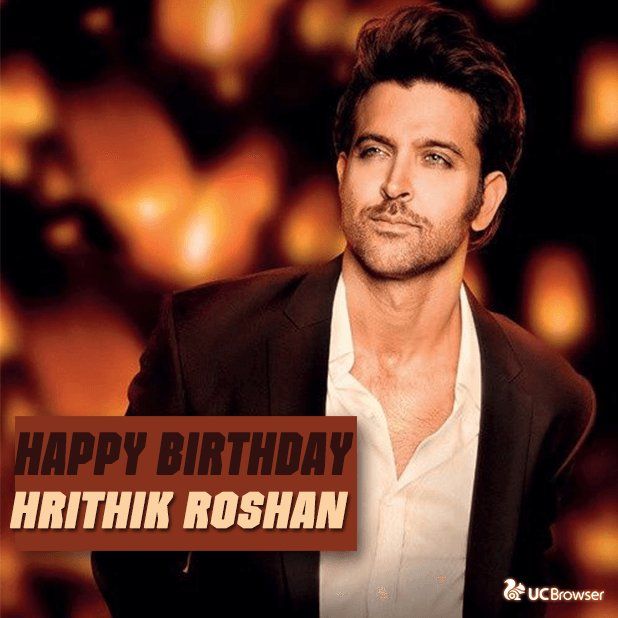 Happy birthday to Bollywood\s Greek God Hrithik Roshan :)
