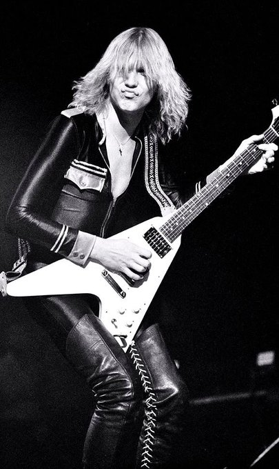 Happy 63rd Birthday to Michael Schenker Scorpions, UFO and more.