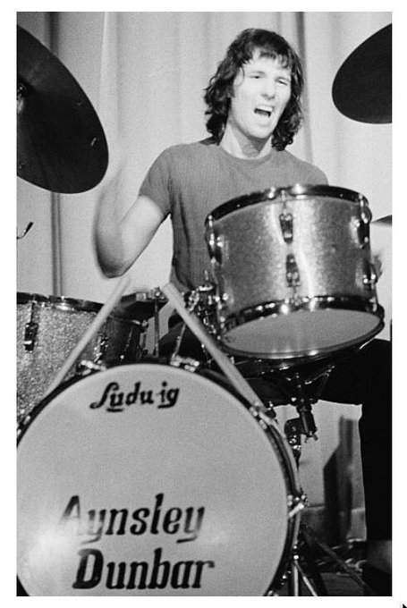 Happy 72nd Birthday To Aynsley Dunbar - David Bowie, UFO, Frank Zappa, Whitesnake, Journey, Jake E Lee and more