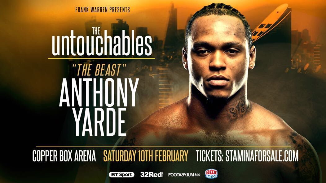 Fight time 💥💥💥 it's the return of @mranthonyyarde click link in bio for tickets   Tunde Ajayi 🎓 https://t.co/N8YSel0Nu0