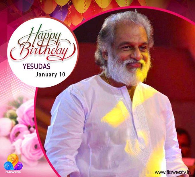 Happy Birthday K.J Yesudas