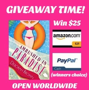 $25 Amazon/PP-1-WW-Ambushed in Paradise-Deborah Brown  Ends 2/4
