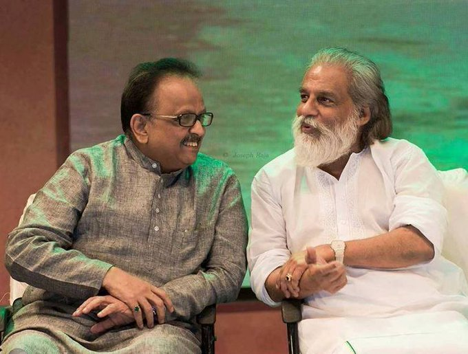 Happy Birthday, K. J. Yesudas.  Two of India s greatest singers, and