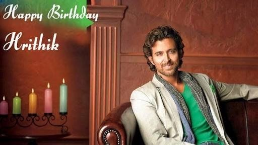 Many many happy returns of the day happy birthday Hrithik Roshan God bless you....