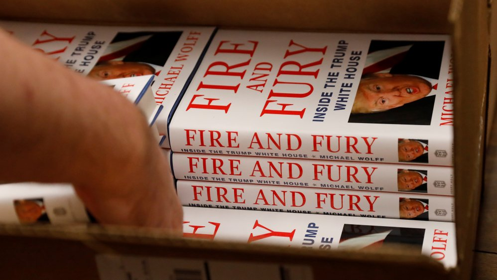 Why has the book 'Fire and Fury' made Donald Trump so angry? via @AJInsideStory