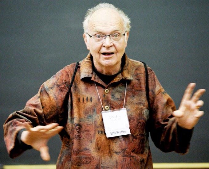 Happy 80th Birthday Don Knuth!