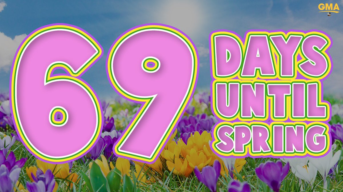 69 days until SPRING! �� �� �� �� https://t.co/uG8Q5EQt7h