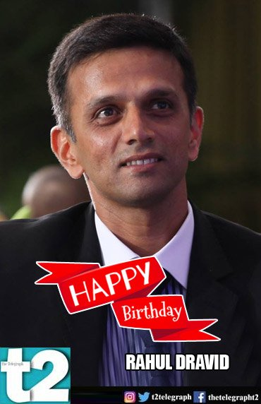 T2 wishes the irreplaceable Rahul Dravid a very happy birthday, and all the best for the U-19 World Cup!