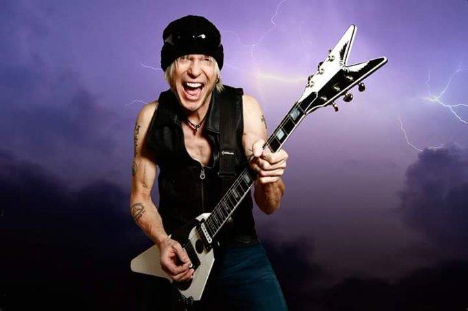 Happy birthday to Michael Schenker! (Scorpions, UFO)