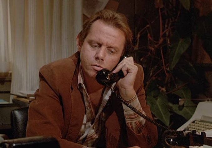 "Happy 74th Birthday to William Sanderson a.k.a. ""Jim Swarthout\""!"