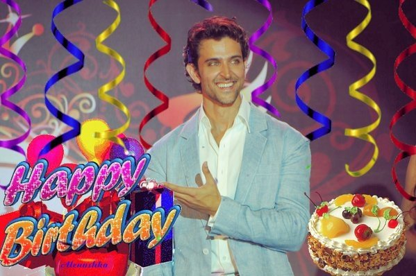 Happy birthday too world\s most handsome nd stylish star....Hrithik Roshan luv u alwz