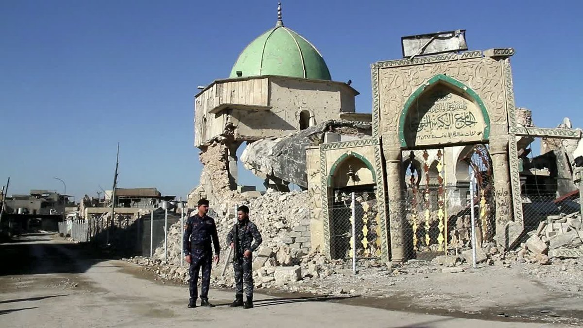 ?? Iraq: 6 months after liberation much of Mosul remains a ruin