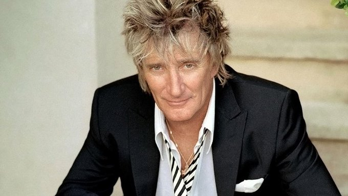 Happy Birthday to Sir Rod Stewart , 73 today!