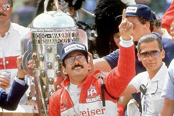 Happy to three-time champion and 1986 winner Bobby Rahal