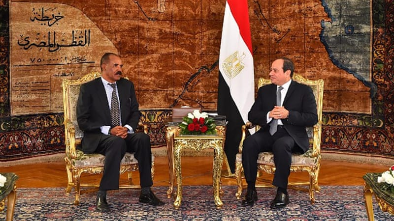 Eritrea and Egypt presidents meet amid Red Sea tensions